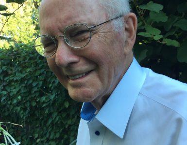 Photo of Bill Siemering, member of NPR's founding board of directors
