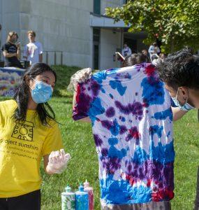 Project sunshine tie dye