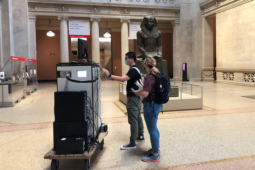 Measuring the Met: Stony Brook Researchers Study Renowned Museum's Air Quality